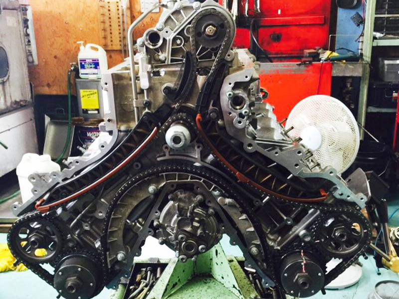 ポルシェカイエンV8エンジン
