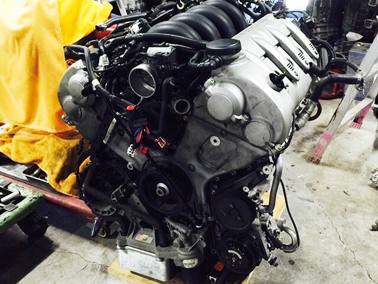 porsche cayenne v8 engine